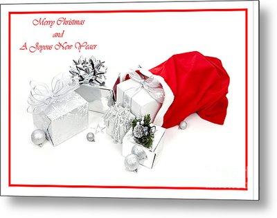 Santa's Bag Metal Print