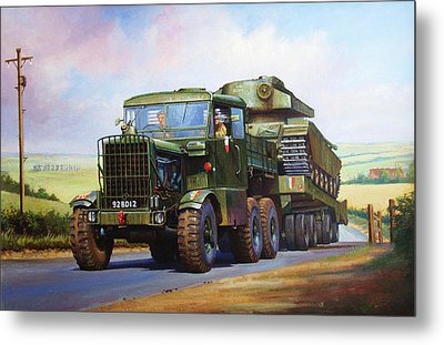Scammell Explorer. Metal Print by Mike  Jeffries