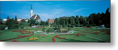 Schonbrunn Palace Vienna Austria Metal Print by Panoramic Images