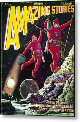 Science Fiction Cover 1929 Metal Print by Granger