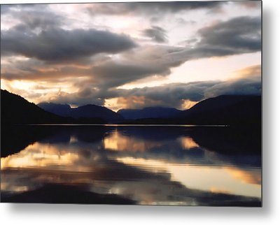 Scottish Loch Metal Print