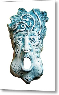 Scream Metal Print by Evin Pesic