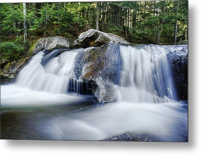 Screw Auger Falls Metal Print