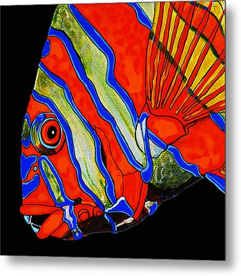 Metal Print featuring the painting See Me Sea You by Debbie Chamberlin