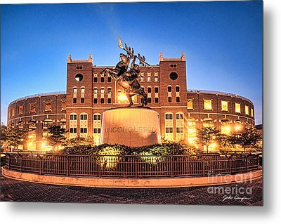 Seminole Fire - Unconquered Metal Print by John Douglas