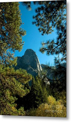 Sentinel Dome, Yosemite Np Metal Print by Mark Newman