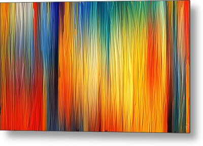 Shades Of Emotion Metal Print by Lourry Legarde