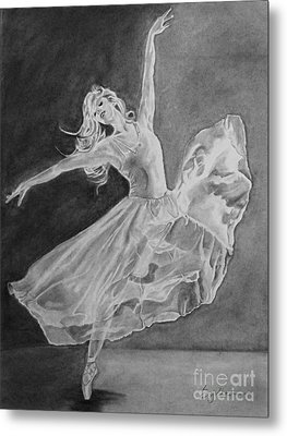 Shadow Dancer Metal Print
