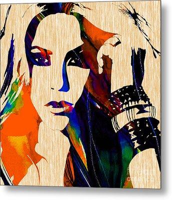Shakira Collection Metal Print