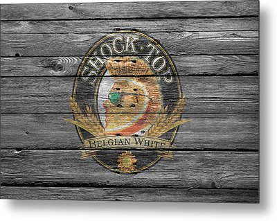 Shock Top Metal Print by Joe Hamilton