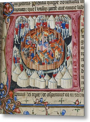 Siege Of Jerusalem Metal Print