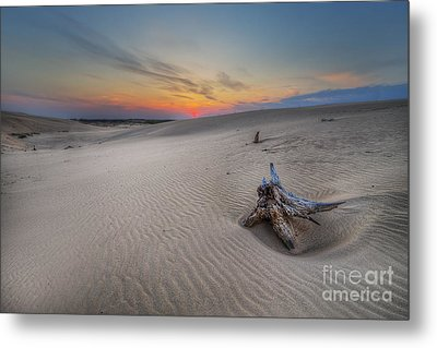Silver Lake Sand Dunes Metal Print by Twenty Two North Photography