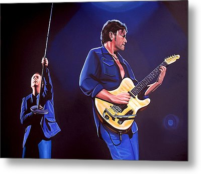 Simple Minds Metal Print by Paul Meijering