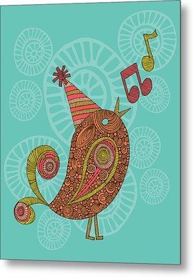 Singing Bird Metal Print by Valentina Ramos