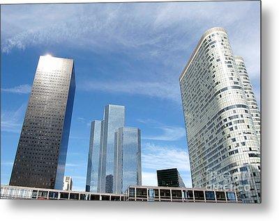 Skyscrapers Metal Print by Michal Bednarek