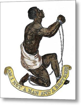Slavery Abolition, 1835 Metal Print by Granger