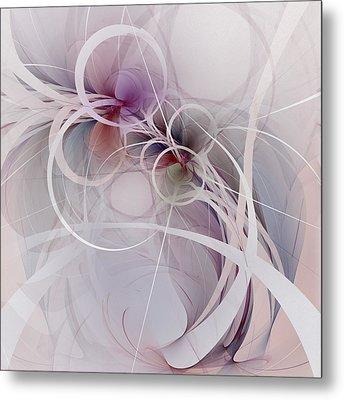 Metal Print featuring the digital art Sleight Of Hand by NirvanaBlues