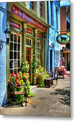 Small Town America 4 Metal Print by Mel Steinhauer