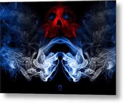 Smoke Photoart Metal Print