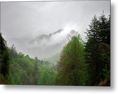 Smoky Mountains Metal Print