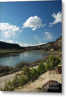 711p Snake River Birds Of Prey Area Metal Print