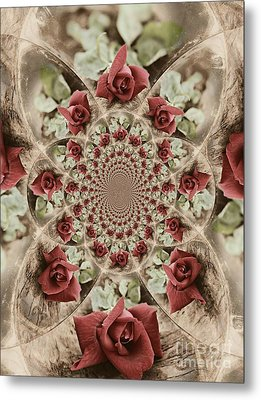 Soft Beauty Metal Print by Clare Bevan