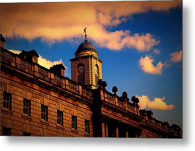 Somerset House Metal Print by Nicky Jameson
