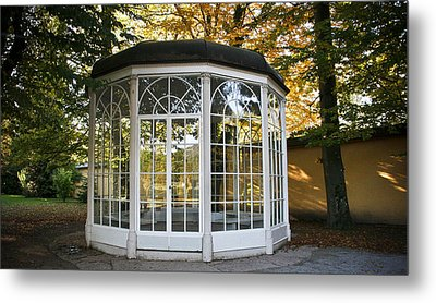 Sound Of Music Gazebo Metal Print