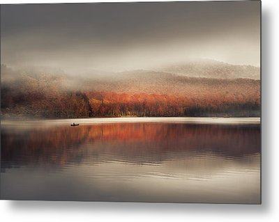 Sound Of Silence Metal Print by Magda  Bognar
