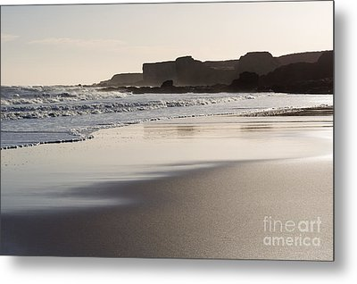 South Shields Beach Metal Print by Ray Pritchard