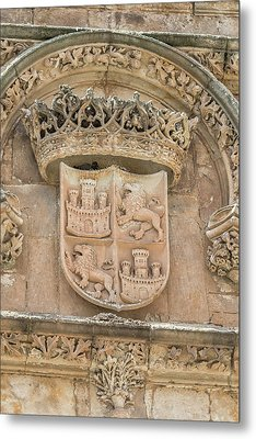 Spain, Salamanca, Relief Sculpture Metal Print