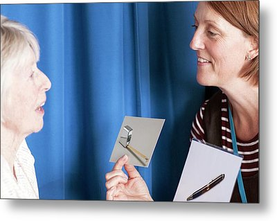 Speech Therapy Clinic Metal Print by Life In View