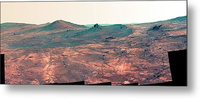 Spirit Of St. Louis Crater Metal Print
