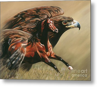 Spirits Take Flight Metal Print