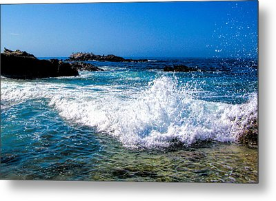 Surf's Up Metal Print by Tammy Espino