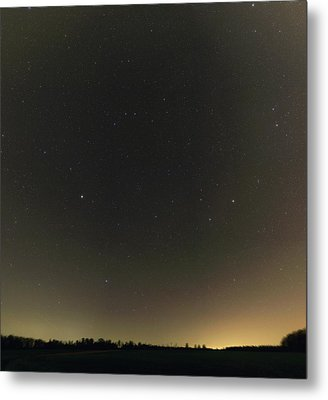 Spring Stars And Light Pollution Metal Print by Eckhard Slawik