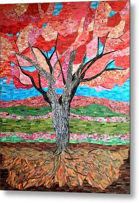 Springtime  Metal Print by Claudia French