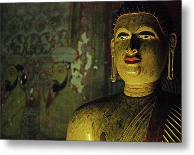 Sri Lanka, Dambulla, Dambulla Cave Metal Print