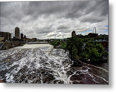St Anthony Falls Metal Print