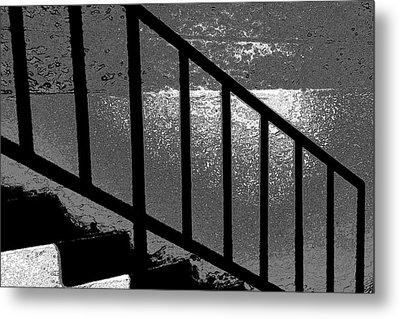 Stairs Metal Print by Lenore Senior
