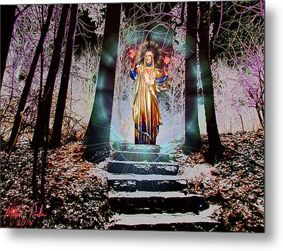 Stairway To Heaven Metal Print by Michael Rucker