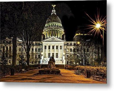 State Capitol Metal Print