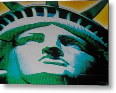 Statue Of Liberty  Metal Print by Rob Hans