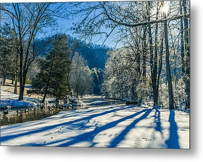 Steele Creek Winter Metal Print
