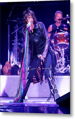 Steven Tyler Aerosmith Metal Print by Don Olea