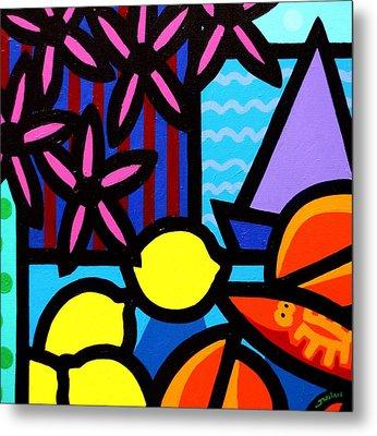 Still Life At Window IIi Metal Print by John  Nolan