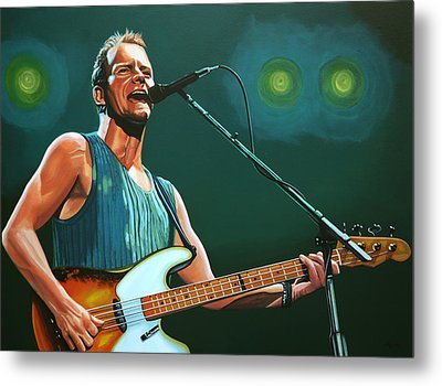 Sting Metal Print by Paul Meijering