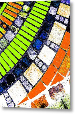 Metal Print featuring the photograph Stone by Nico Bielow