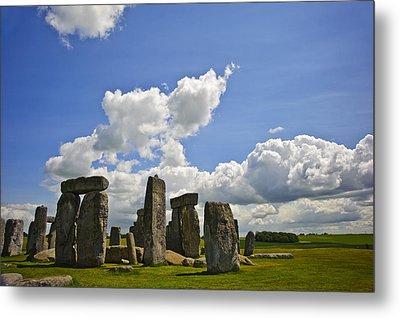 Stonehenge Metal Print by Matthew Gibson