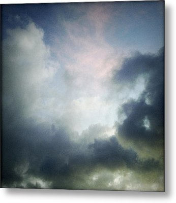 Storm Clouds Metal Print by Les Cunliffe